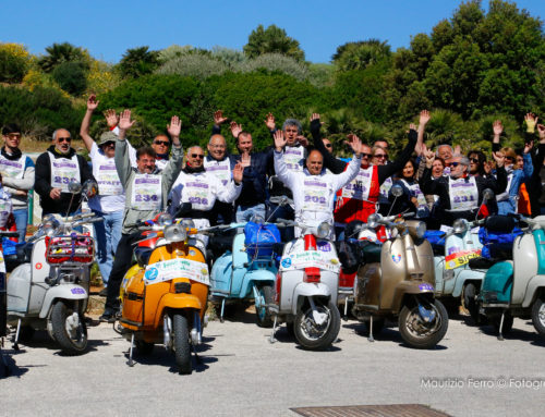 il Lambretta Club Sicilia festeggia oggi l'attività 2019