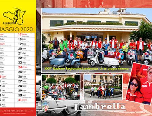 Calendario 2020 – Maggio in Lambretta